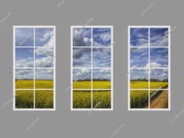Fake window light panel 120x240cm 216W LED