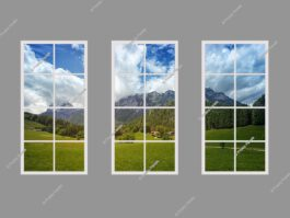 Fake sunlight window 120x240cm 216W LED