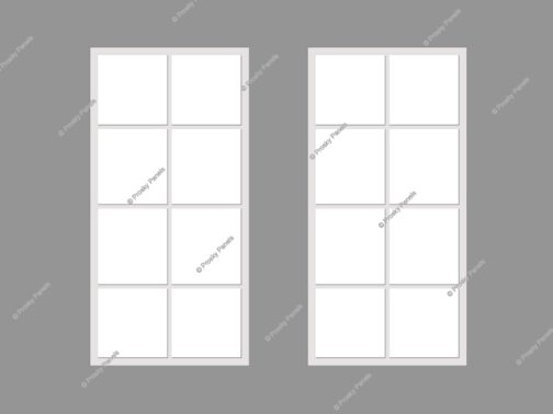 Fake windows for windowless rooms