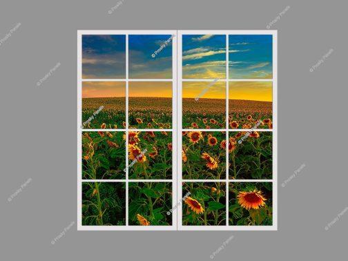 Artificial window light