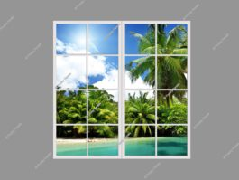 Fake window 120x120cm 144W LED