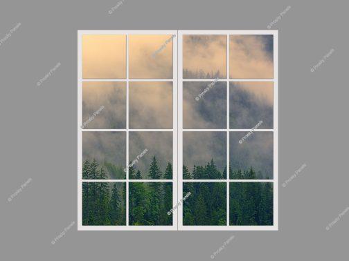 decorative faux windows