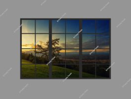 Fake window light panel 120x180cm 216W LED