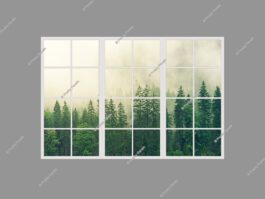 3d fake window 120x180cm 216W LED