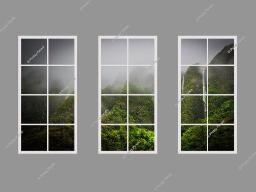 Fake natural light window