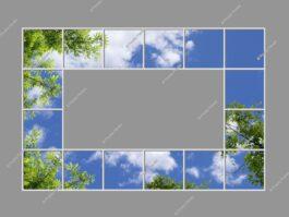 Artificial sky 240x360cm 576W LED