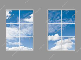 Artificial skylight panels 180x300cm 432W LED