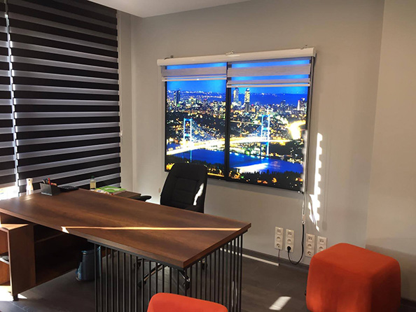 fake window for office