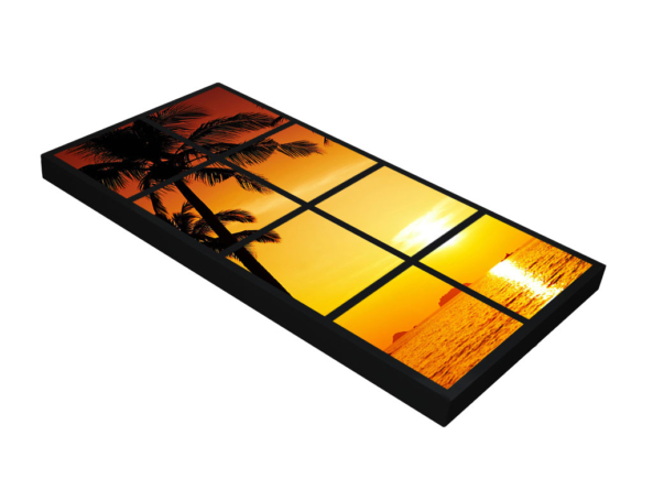 1200x600x70mm fake window light panel
