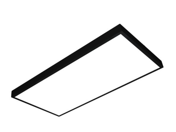 1200x600 LED panel black frame