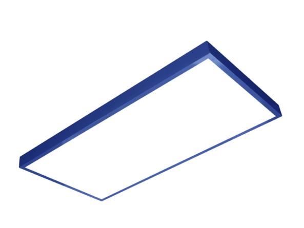 1200x600 LED panel blue frame