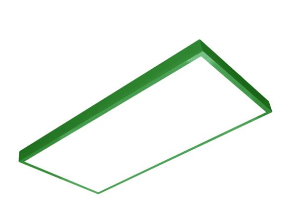 1200x600 LED panel green frame