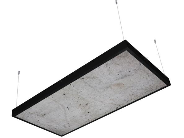 1200x600 LED panel photo print light covered 6