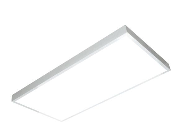 1200x600 LED panel white frame