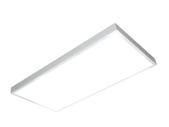 1200x600 LED panel white frame