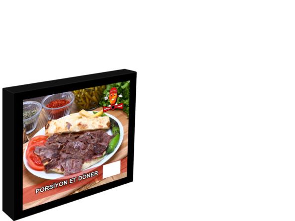 400x400 menu board