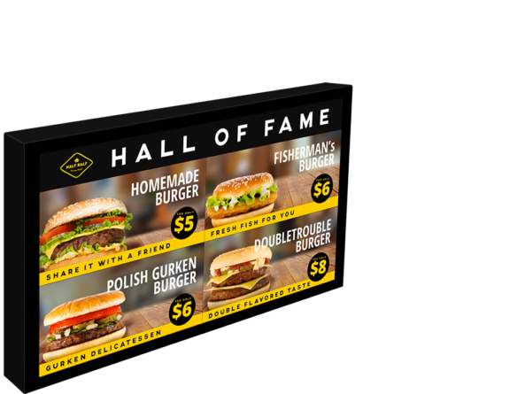 500x700 menu board