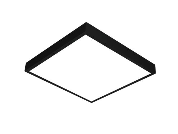 600x600 LED panel black