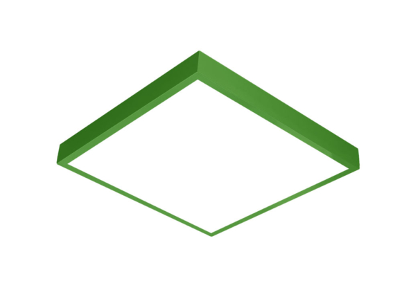 600x600 LED panel green