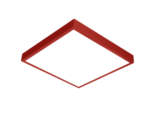 600x600 LED panel red