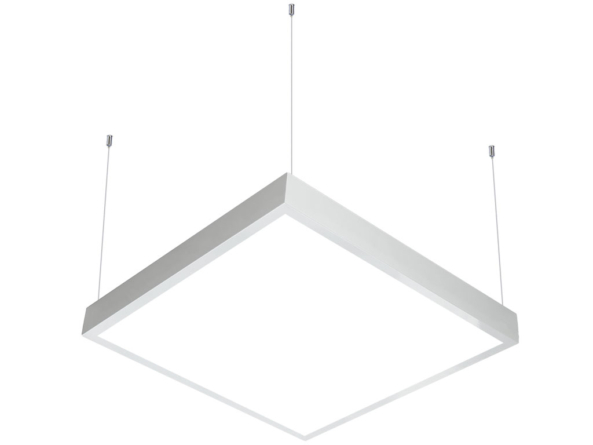 600x600 LED panel suspended white
