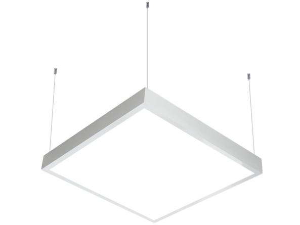 600x600 LED panel suspended white