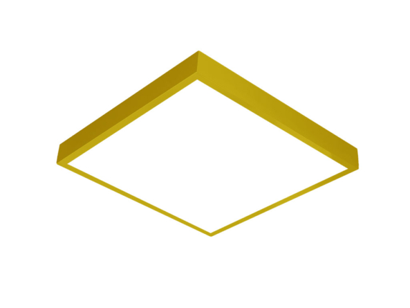600x600 LED panel yellow