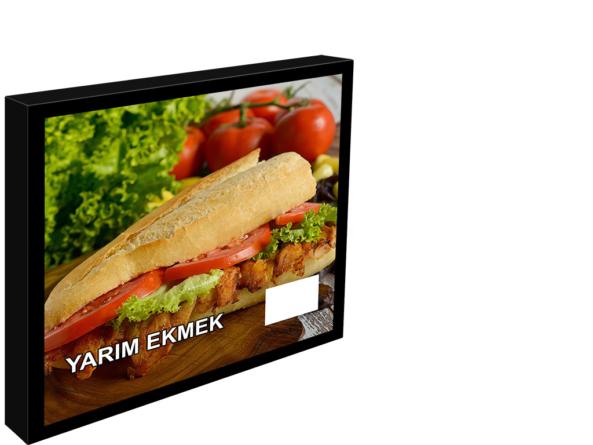 600x600 menu board
