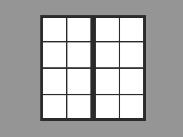 60120GS-D2B ↕1,2m↔1,2m