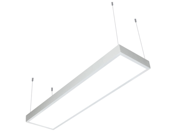LED panel 1200x300 suspended