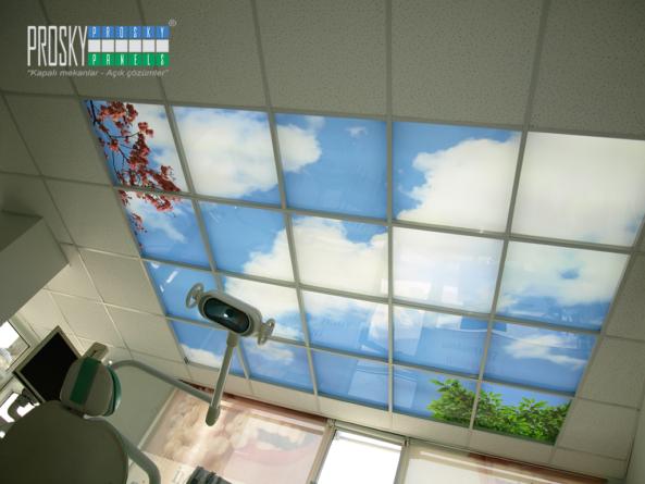 artificial sky ceiling