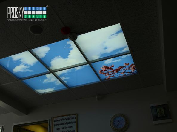 artificial skylight panels