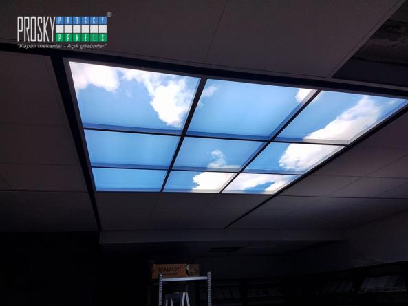 sky ceiling led